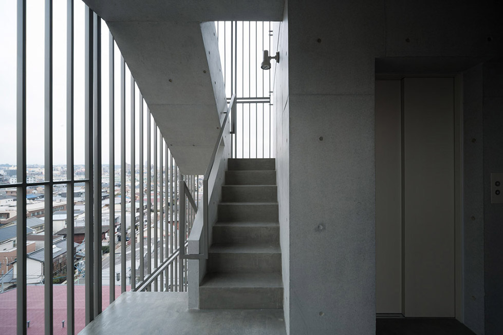 日本名古屋公寓塔楼TASHIRO 71  Hideaki TAKAYNAGI (16)