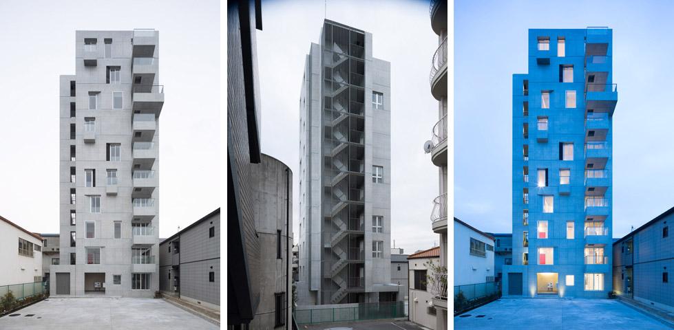 日本名古屋公寓塔楼TASHIRO 71  Hideaki TAKAYNAGI (18)
