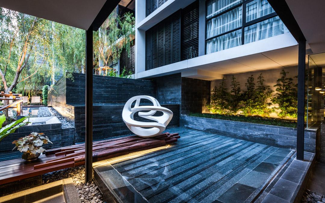 泰国某公寓公共花园Mode 61  Shma (1)