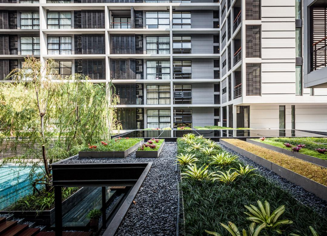 泰国某公寓公共花园Mode 61  Shma (2)