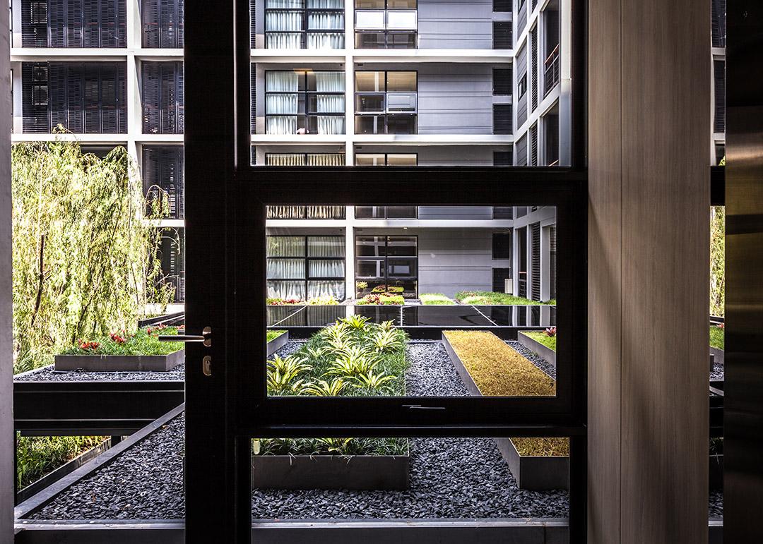 泰国某公寓公共花园Mode 61  Shma (3)