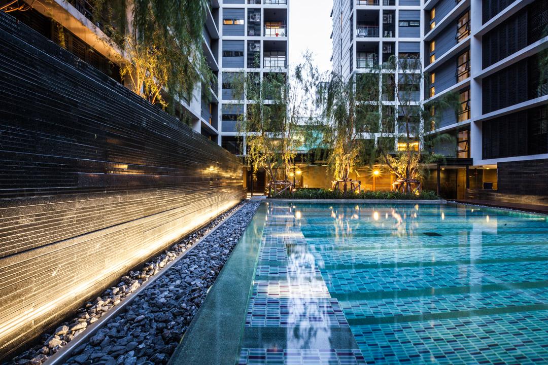 泰国某公寓公共花园Mode 61  Shma (6)