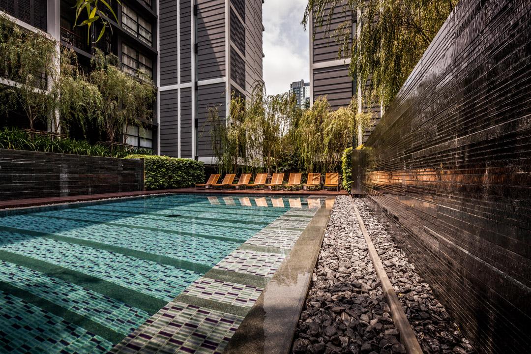 泰国某公寓公共花园Mode 61  Shma (9)