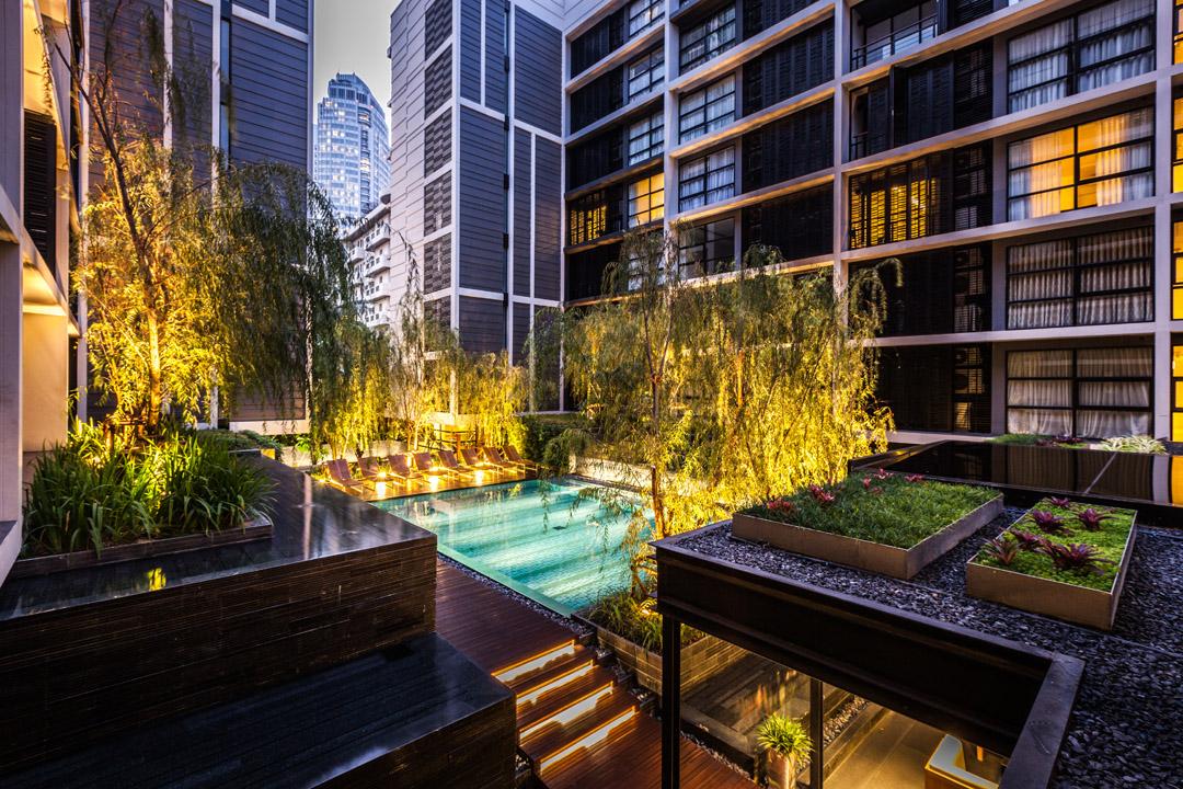 泰国某公寓公共花园Mode 61  Shma (11)
