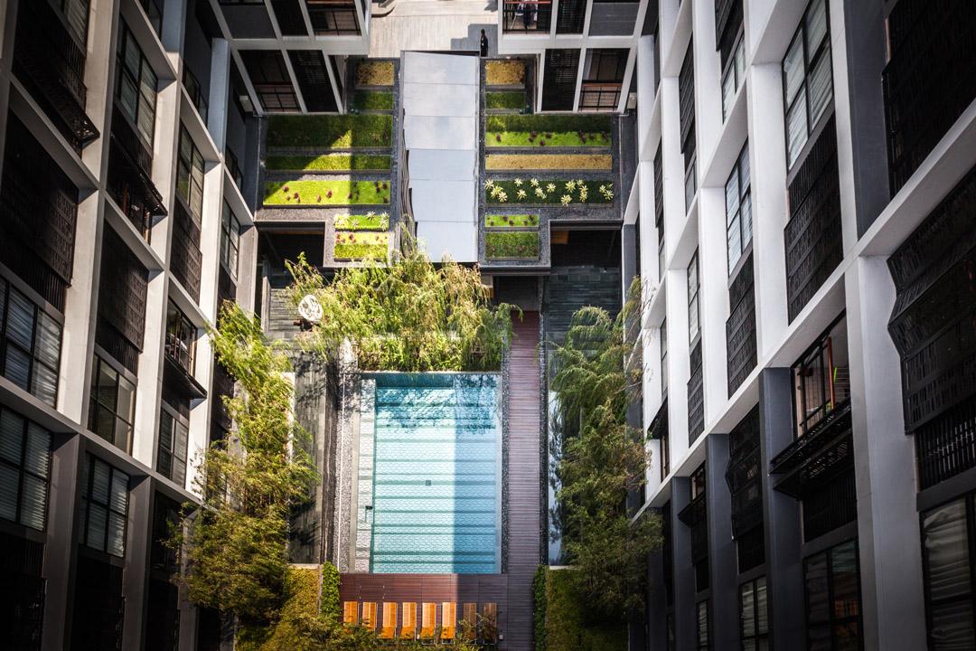 泰国某公寓公共花园Mode 61  Shma (14)