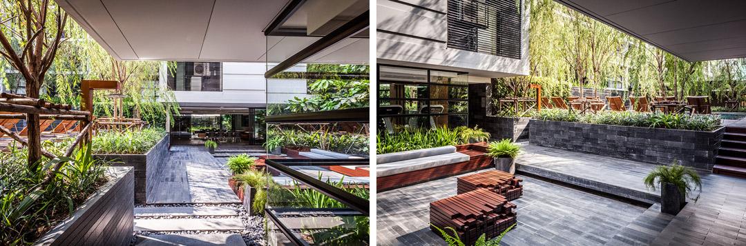 泰国某公寓公共花园Mode 61  Shma (15)