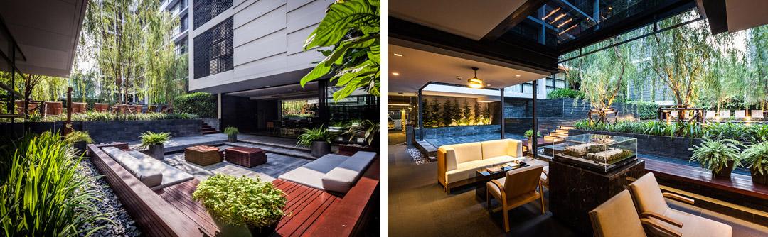 泰国某公寓公共花园Mode 61  Shma (17)