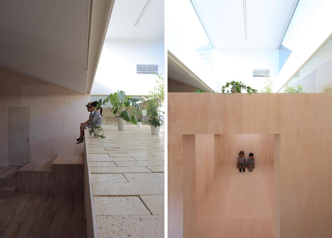 日本两个住宅的合并i.n.g  Katsutoshi Sasaki (2)