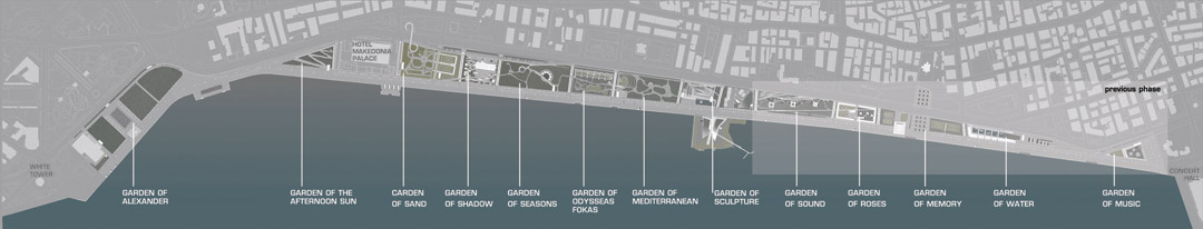 Thessaloniki在2000年启动海滨重建国际竞赛Redevelopment of the New Waterfront of Thessaloniki (7)