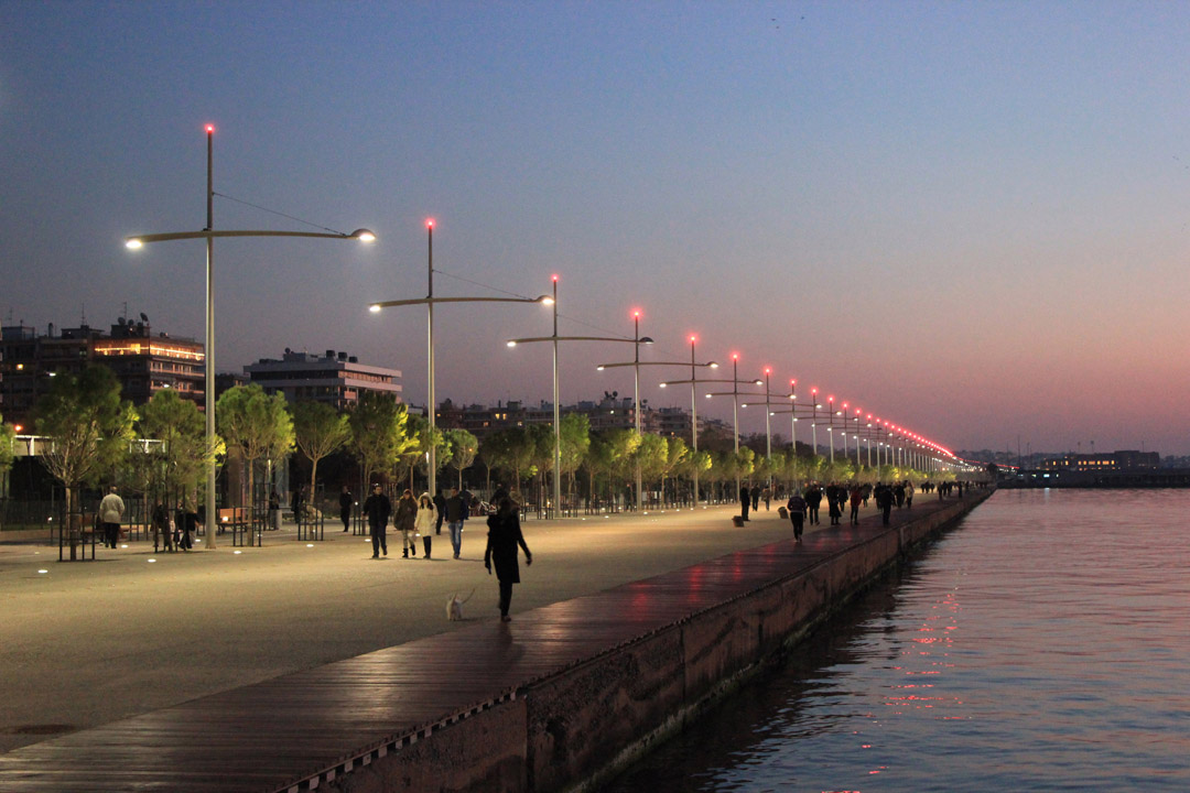 Thessaloniki在2000年启动海滨重建国际竞赛Redevelopment of the New Waterfront of Thessaloniki (16)