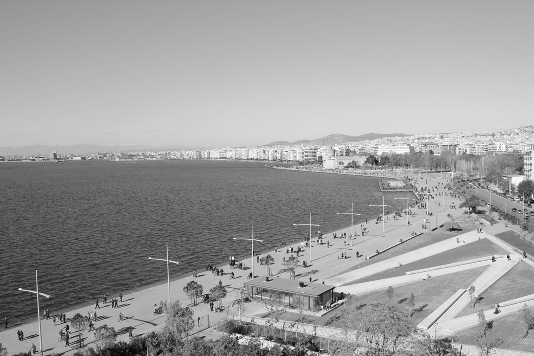 Thessaloniki在2000年启动海滨重建国际竞赛Redevelopment of the New Waterfront of Thessaloniki (27)