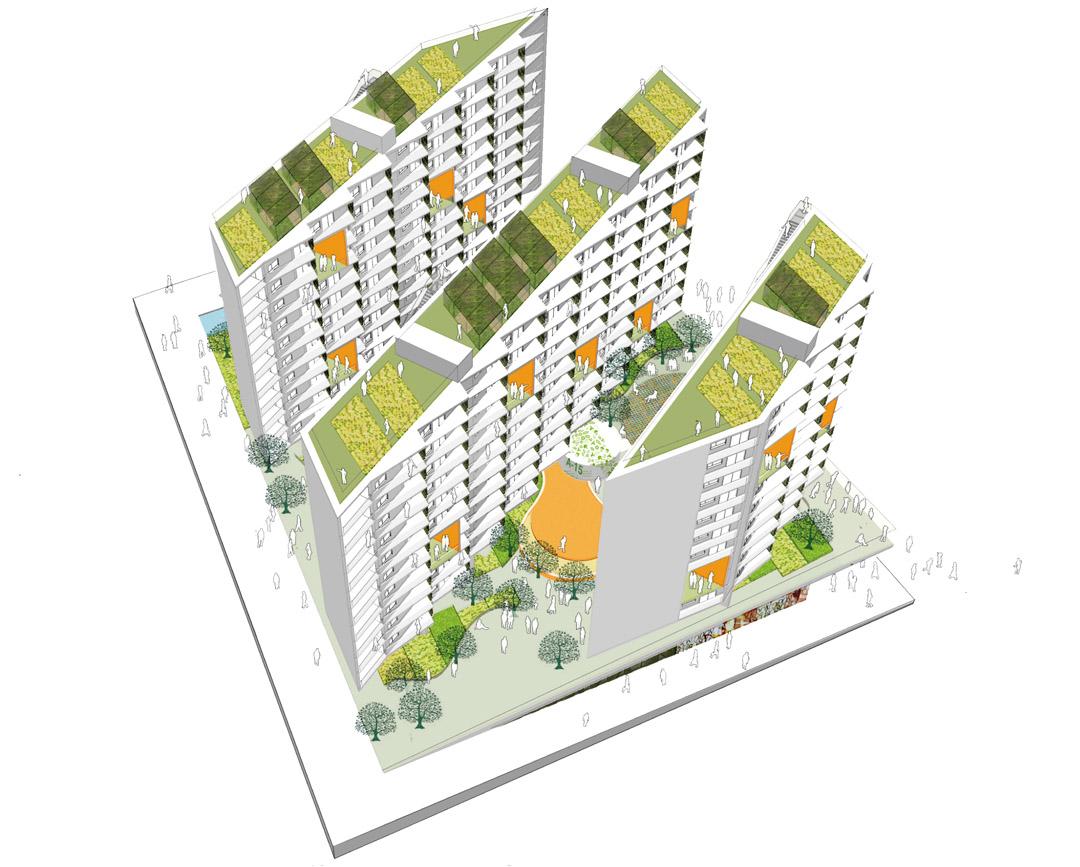 南宁市五象新城3-Yard Gardens 9-Puzzle House O-office Architects (1)