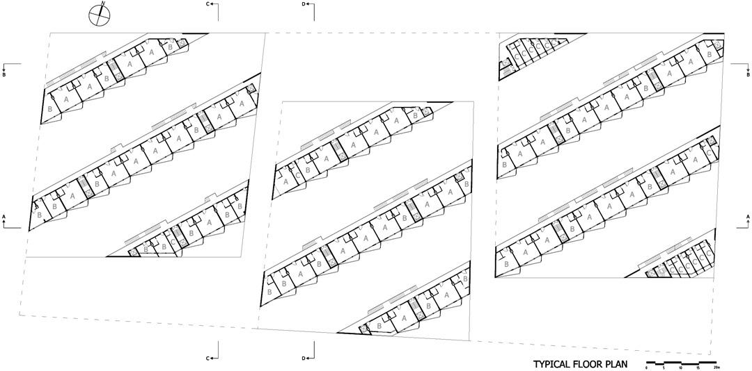 南宁市五象新城3-Yard Gardens 9-Puzzle House O-office Architects (9)