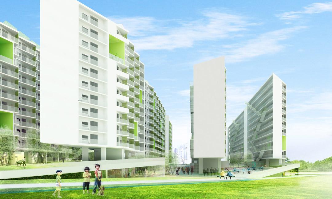 南宁市五象新城3-Yard Gardens 9-Puzzle House O-office Architects (10)