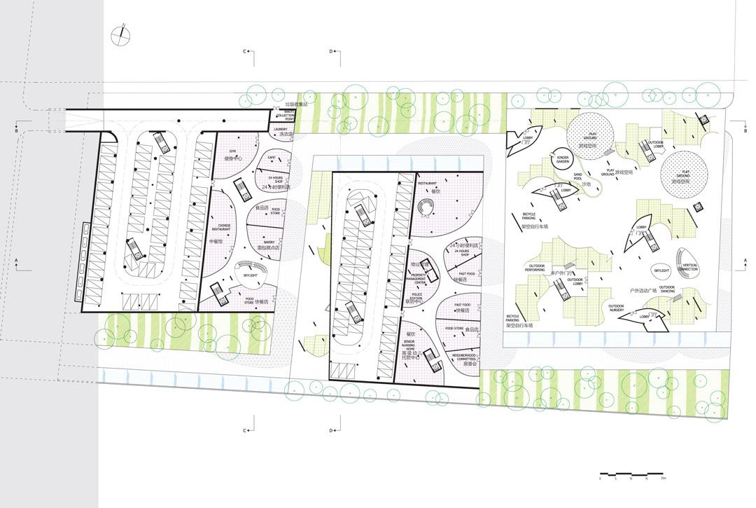 南宁市五象新城3-Yard Gardens 9-Puzzle House O-office Architects (18)