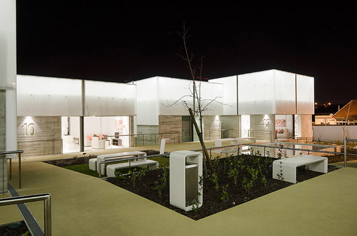 阿维罗社会福利综合体Social Complex in AlcabidecheGuedes Cruz Architecs (1)