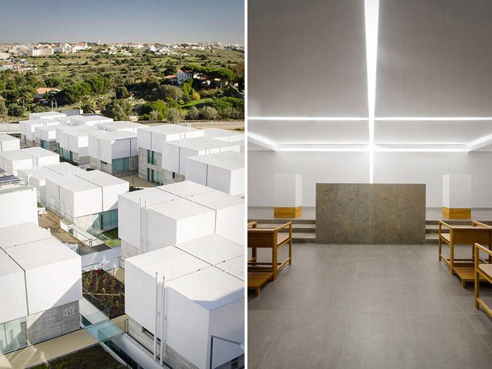 阿维罗社会福利综合体Social Complex in AlcabidecheGuedes Cruz Architecs (6)