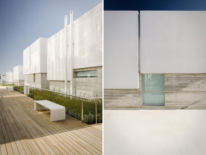 阿维罗社会福利综合体Social Complex in AlcabidecheGuedes Cruz Architecs (8)
