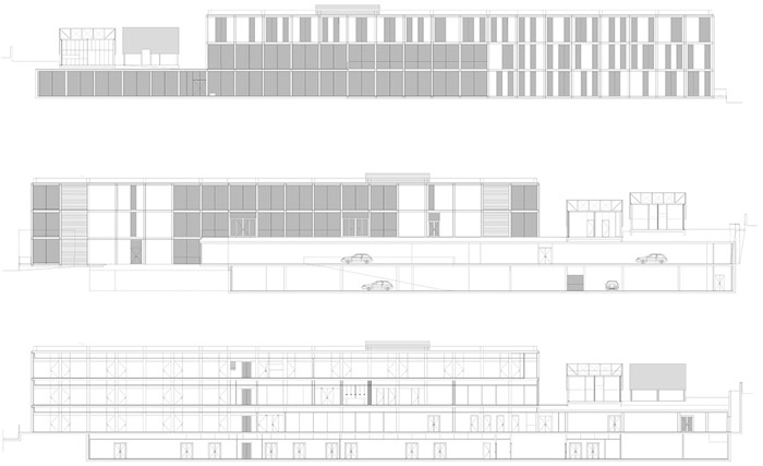 阿维罗社会福利综合体Social Complex in AlcabidecheGuedes Cruz Architecs (11)