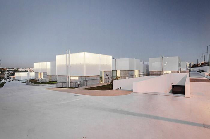 阿维罗社会福利综合体Social Complex in AlcabidecheGuedes Cruz Architecs (12)