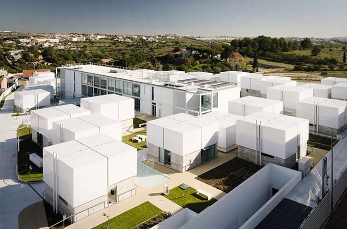 阿维罗社会福利综合体Social Complex in AlcabidecheGuedes Cruz Architecs (14)