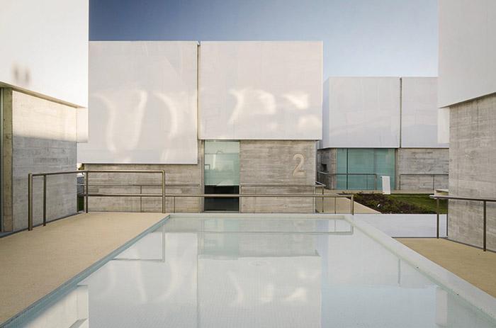 阿维罗社会福利综合体Social Complex in AlcabidecheGuedes Cruz Architecs (24)