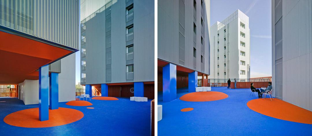 118个社会住房单元的混合建筑 (5)