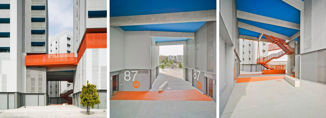 118个社会住房单元的混合建筑 (16)
