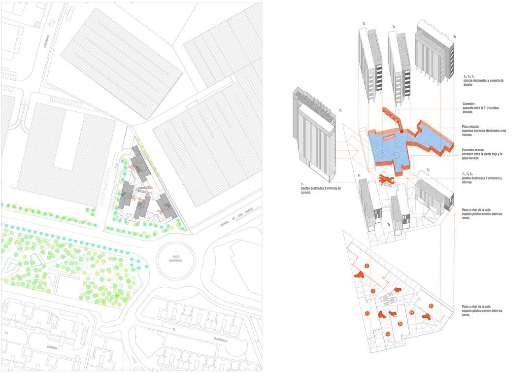 118个社会住房单元的混合建筑2 (3)