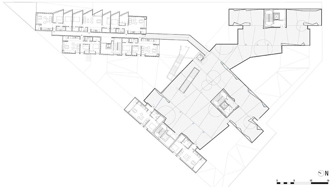 118个社会住房单元的混合建筑2 (6)
