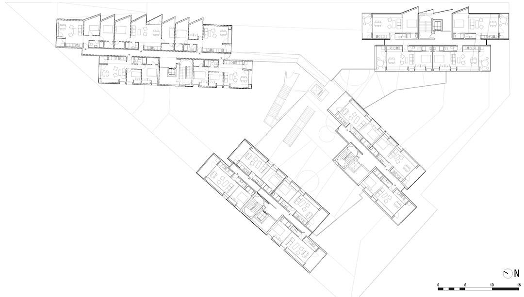 118个社会住房单元的混合建筑2 (7)