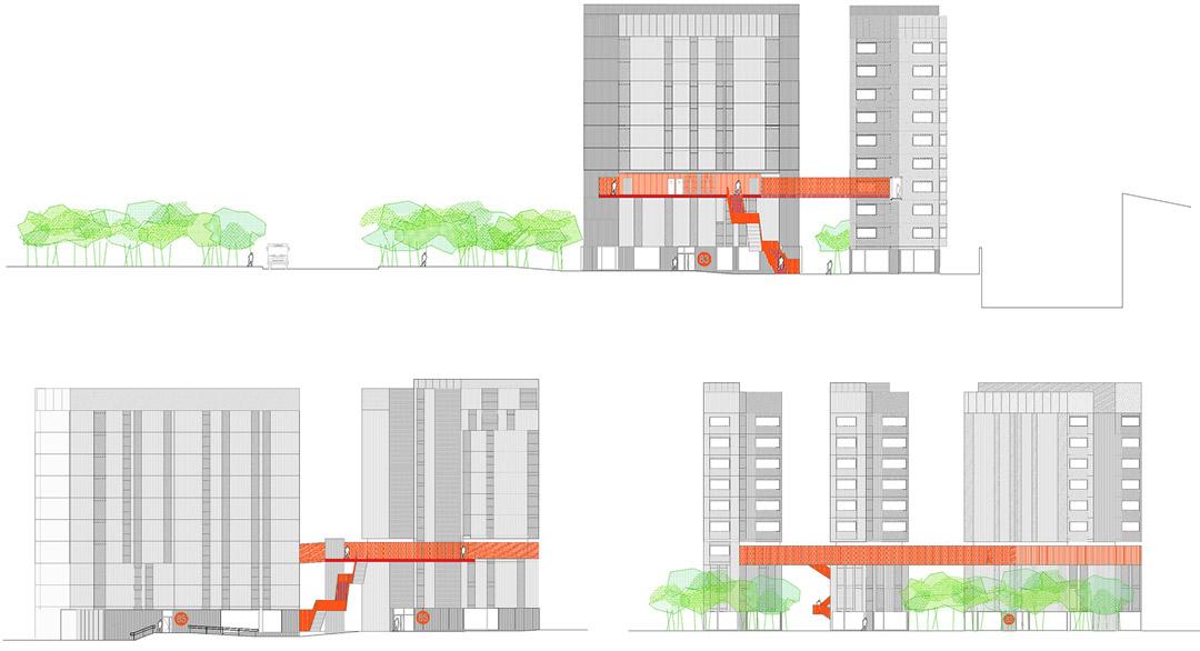 118个社会住房单元的混合建筑2 (9)