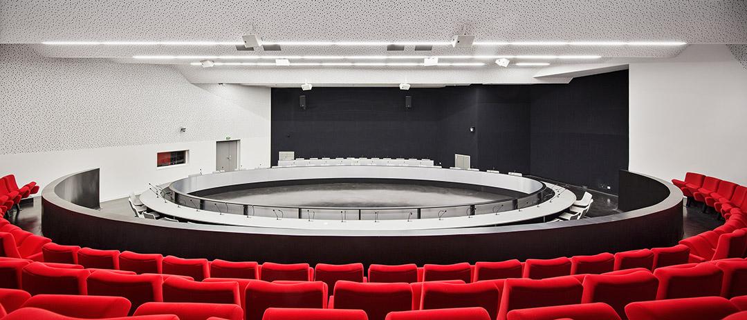 巴黎东郊尼奥莱市政厅Bagnolet Town HallJean-Pierre LOTT (3)