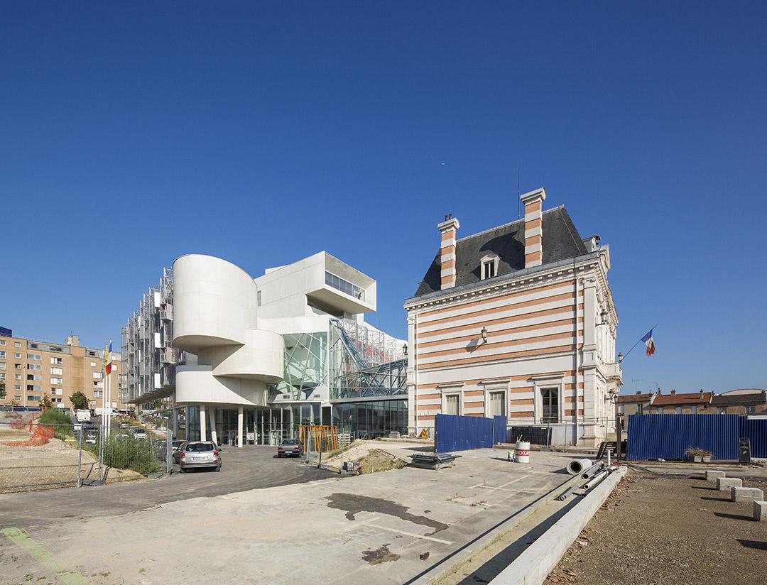 巴黎东郊尼奥莱市政厅Bagnolet Town HallJean-Pierre LOTT (12)