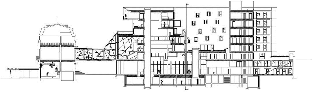 巴黎东郊尼奥莱市政厅Bagnolet Town HallJean-Pierre LOTT2 (2)