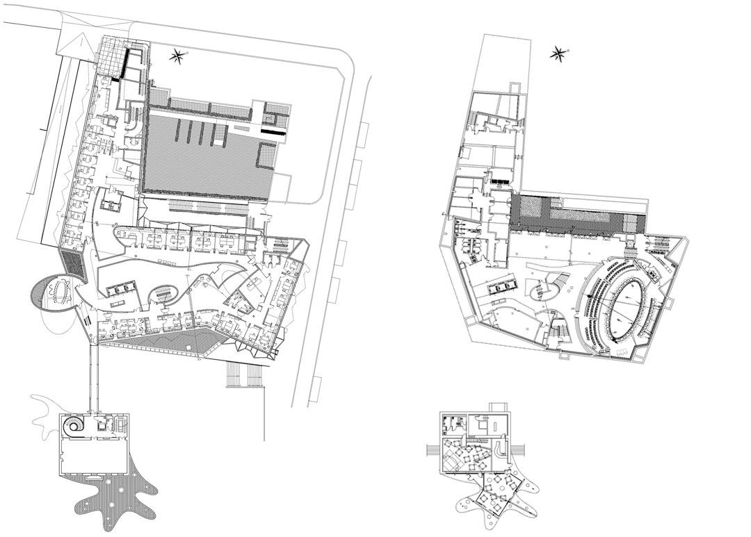 巴黎东郊尼奥莱市政厅Bagnolet Town HallJean-Pierre LOTT2 (4)