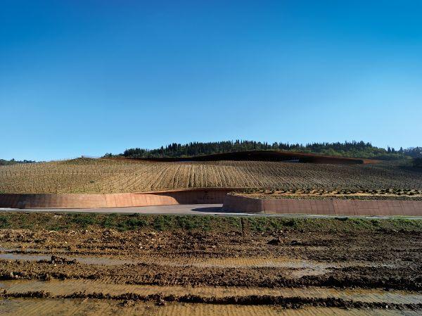 意大利,佛罗伦萨 ,安东尼世家酒庄  Archea Associati1 (1)