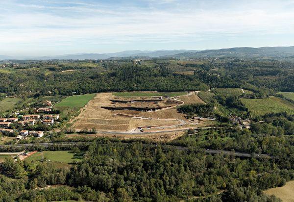 意大利,佛罗伦萨 ,安东尼世家酒庄  Archea Associati2 (5)