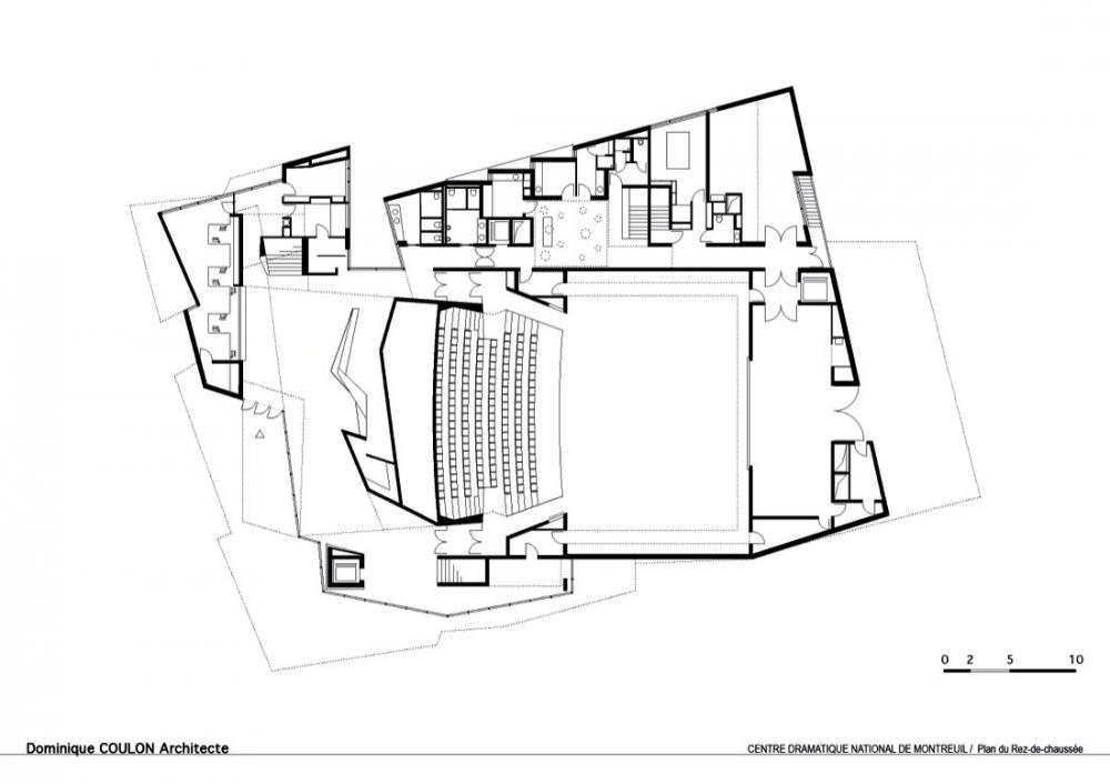 法国蒙特勒伊某剧院Dominique Coulon Architecte (1)