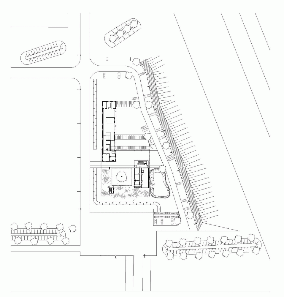 """比利时昂吉的""""灯笼""""建筑+zigzag architecture+ (1)"""