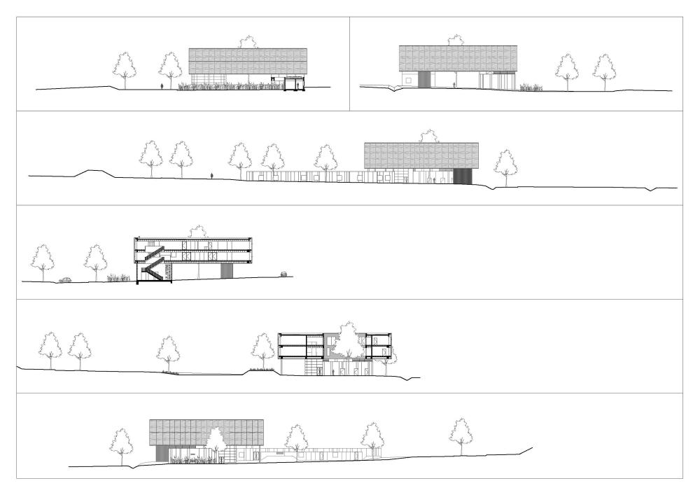 """比利时昂吉的""""灯笼""""建筑+zigzag architecture+ (4)"""