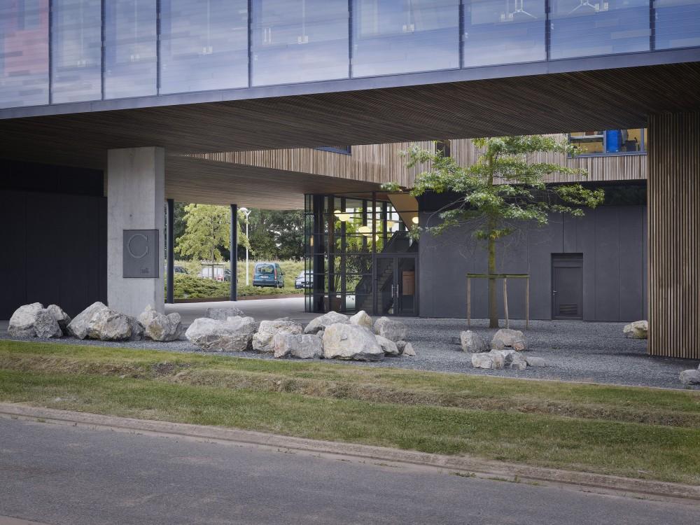 """比利时昂吉的""""灯笼""""建筑+zigzag architecture+ (7)"""