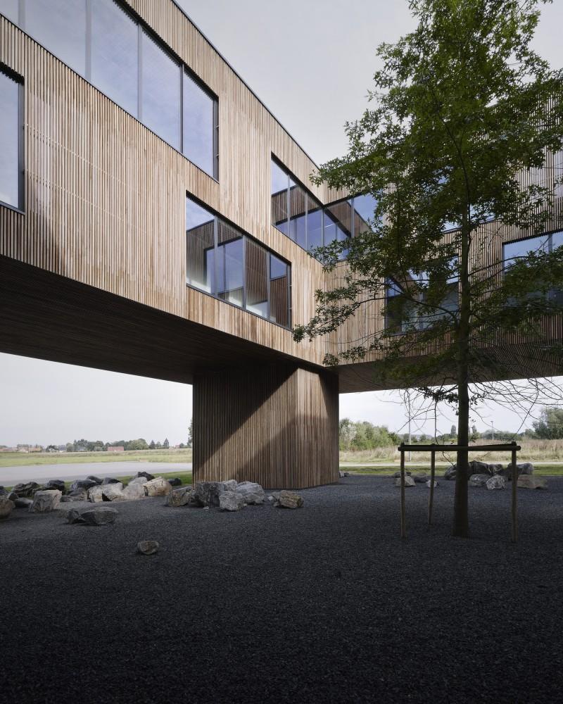 """比利时昂吉的""""灯笼""""建筑+zigzag architecture+ (8)"""