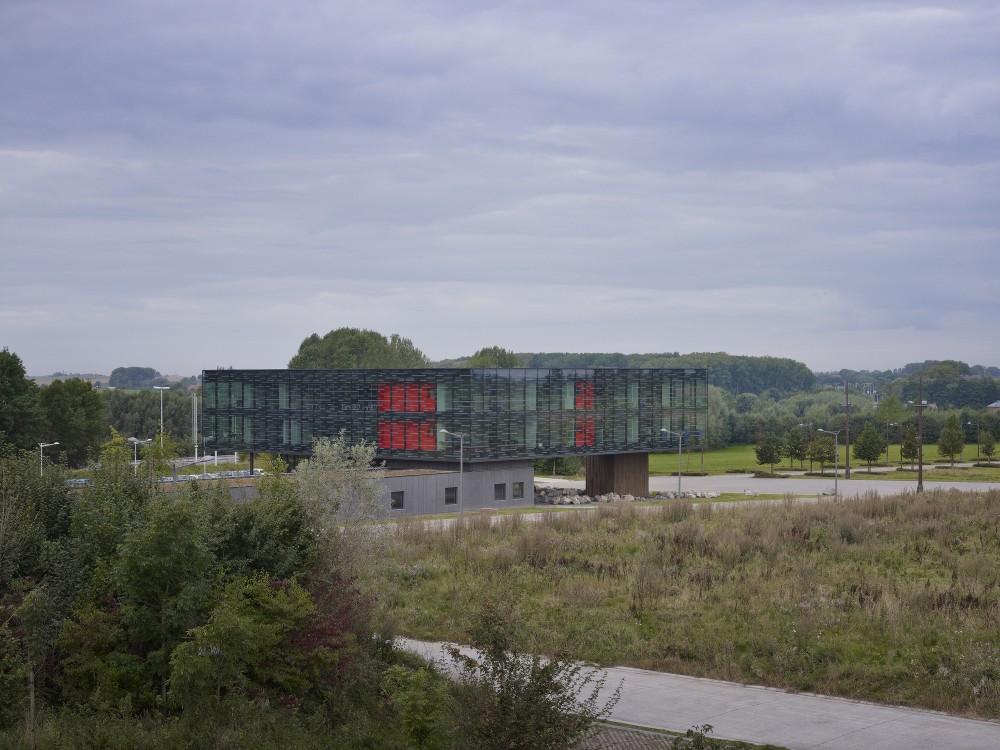"""比利时昂吉的""""灯笼""""建筑+zigzag architecture+ (18)"""