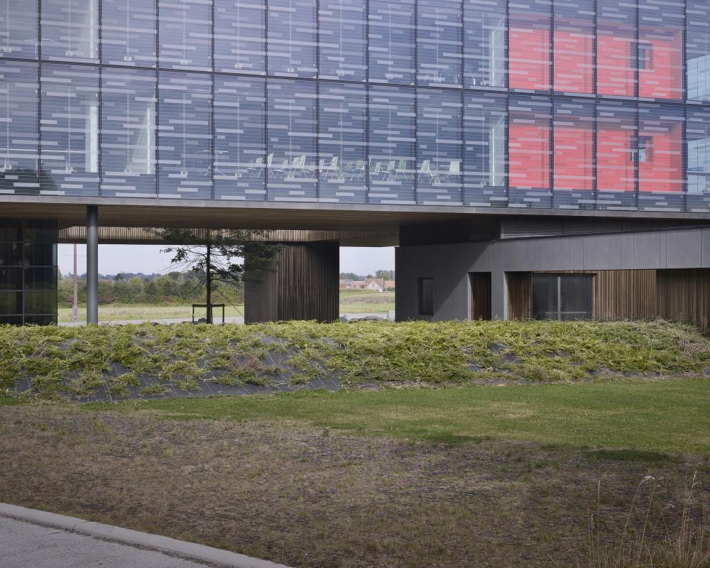 """比利时昂吉的""""灯笼""""建筑+zigzag architecture+ (21)"""