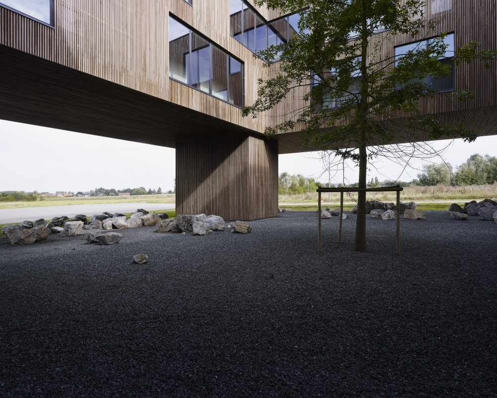 """比利时昂吉的""""灯笼""""建筑+zigzag architecture+ (23)"""