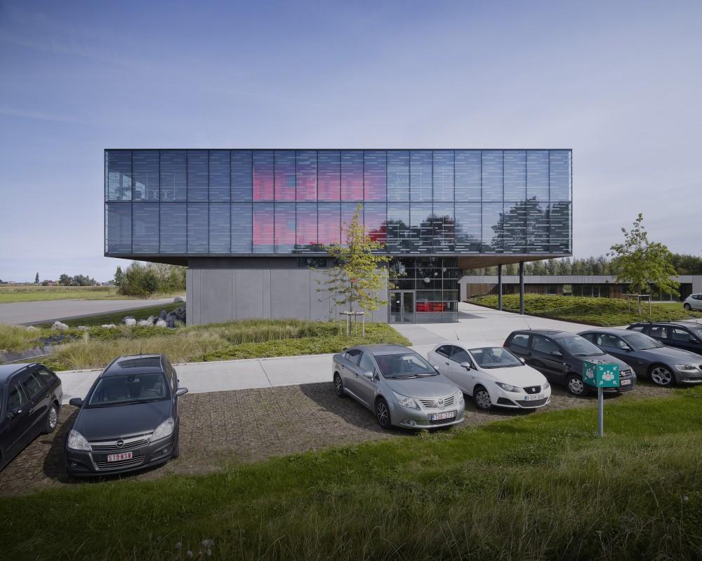 """比利时昂吉的""""灯笼""""建筑+zigzag architecture+ (27)"""