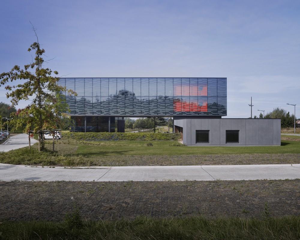 """比利时昂吉的""""灯笼""""建筑+zigzag architecture+ (28)"""