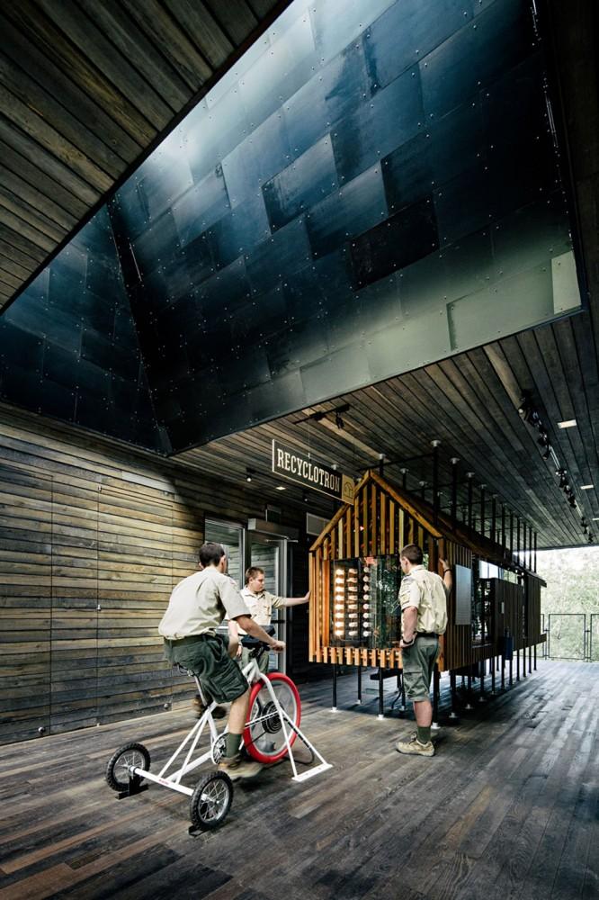 美国弗吉尼亚州的可持续树屋 (1)