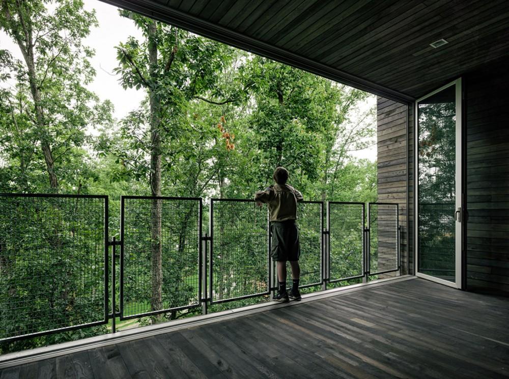 美国弗吉尼亚州的可持续树屋 (4)